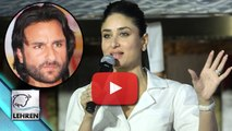 Kareena Kapoor REVEALS Why She MARRIED Saif Ali Khan