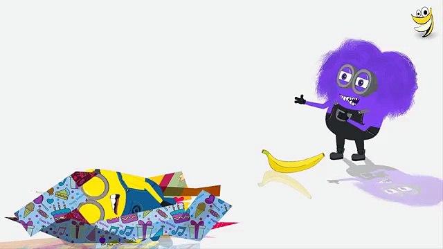 Minions Banana Stroller Funny Cartoon ~ Minions Mini Movies 2016 [HD] (Funny)