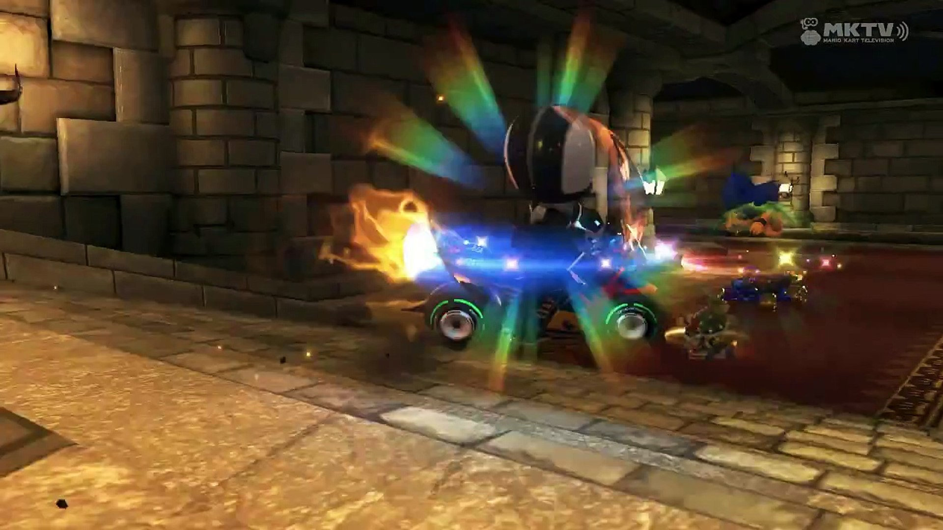 Wii U Mario Kart 8 Castillo De Bowser