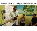 Como acalmar um bebé