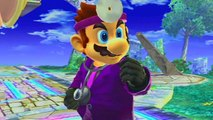 Super Smash Bros. Project M: Mario Character Mods + Gameplay