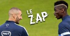 Le Zap : CR7 énervé, Piqué agressé, Benzema et Pogba déchaînés