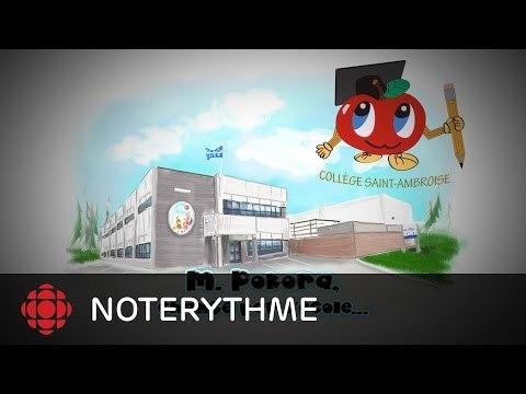 NoteRythme - Collège Saint-Ambroise - On est là de M.Pokora