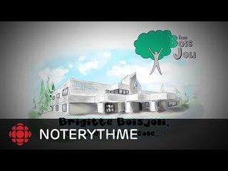 NoteRythme  -École Saint-Laurent - Pas à pas de Brigitte Boisjoli