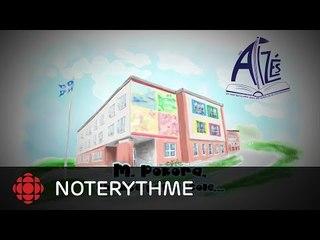 NoteRythme - École des Alizés - On est là de M. Pokora