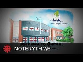 NoteRythme - École Jacques-Cartier-Saint-Denys-Garneau -Tu es comme ça de Marilou et Garou