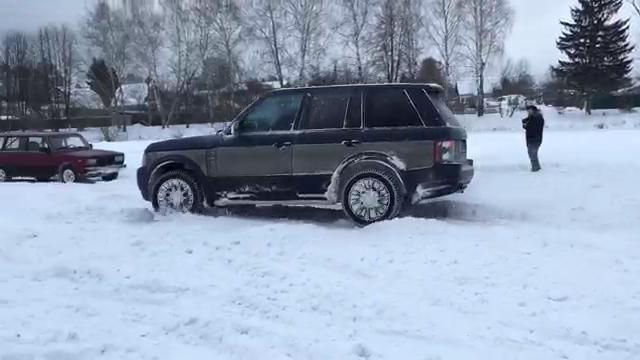 Range Rover Drift 2016