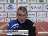 (J30) Tours - Laval, le point presse avec D.Zanko