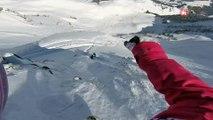GoPro Run Marion Haerty 3rd place - Fieberbrunn Kitzbüheler Alpen
