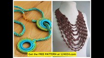 necklace crochet crochet flower necklace crochet necklace pattern free