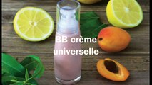 Recette de la BB Crème universelle