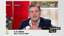 """""""Vous êtes drôle et sexy"""" : Anne-Elisabeth Lemoine drague Daniel Auteuil en direct !"""