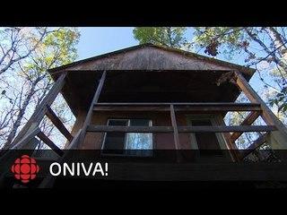 ONdécouvre -  Luc Mariani, cabane à Duck Lake