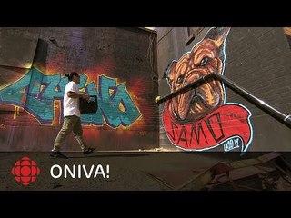 ONdécouvre - Pat Lazo, peintre de graffiti