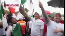 فيديو اليوم  الجزائريون يرفعون شعار دزيرية توانسة خوا خوا يا ارهابي يا جبان شعب تونس لا يهان
