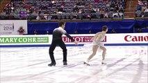 Elisabeth PARADIS / Francois-Xavier OUELLETTE  - Free dance FD - ISU Four Continents Championships 2016