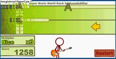 Super crazy guitar 2 - Super Mario World Rock - Perfect !