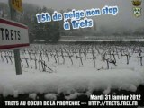Neige à TRETS 31JANV2012