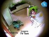 Bebê é agredido por babá em Andradina