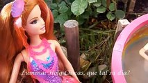 Barbie Sirenas de peliculas Merliah, Lumina y Romy  Barbie Movie Mermaids Merliah, Lumina, Romy