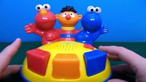Sesame Street Singing Pop-Up Toy. Elmo, Ernie, Cookie Monster. Sesame Street Toys. KindyKi