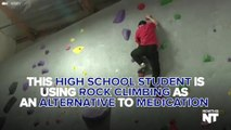 Student With Autism And ADD Improves Focus By Rock Climbing