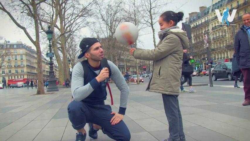 Je défie des inconnus au FREESTYLE FOOTBALL