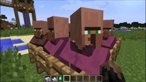 Villager Mincer - Mod Showcase - 1.6.4 - (Eat villagers & shoot with your emerald gun!)