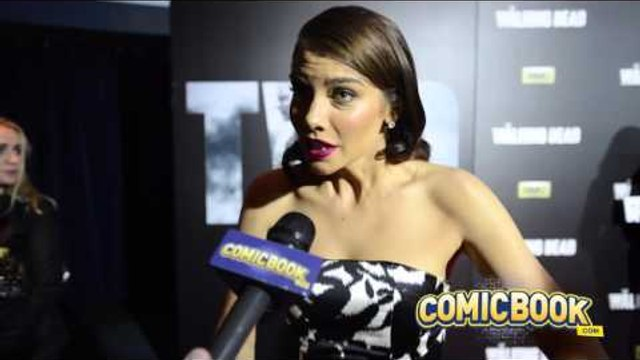 Lauren Cohan - The Walking Dead Red Carpet at the New York Comic Con