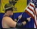 Sgt Slaughter vs Iron Sheik   Championship Wrestling Feb 18th, 1984