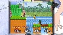Pichu and Luigi Vs Mario and Pikachu - Super Smash Bros Melee Team Battle