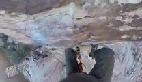 Rock Climber Loses Grip _ Red Rock -2016