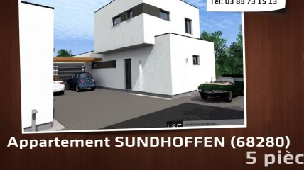 A vendre - Appartement - SUNDHOFFEN (68280) - 5 pièces