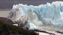 News : En Argentine, l'impressionnant effondrement du glacier Perito Moreno !