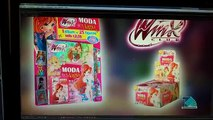 Winx Club - Moda and Magie Album for Sticker - Creation of Advertising