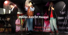 Master Zain Ul Hassan Special Entry in his own (Girls and boy Musical concert of Master Zain) 20 feb 2016