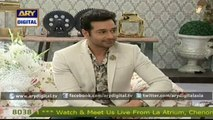 Good Morning Pakistan - Faysal Qureshi returns to Ary Zindagi with a new morning show titled ARY,s Salam