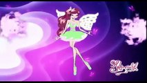 Winx Club Roxy Butterflix and Tynix Transformation