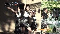 20150723 「モーニングCROSS」9人組アイドル・アンジュルム ファン1000人の前で熱唱!