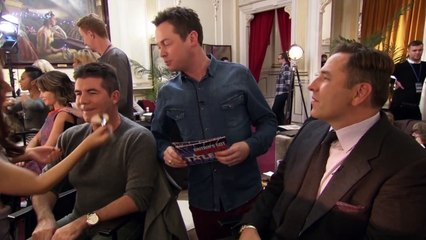 Does Simon Cowell use public transport? Find out here... | Britain's Got More Talent 2013