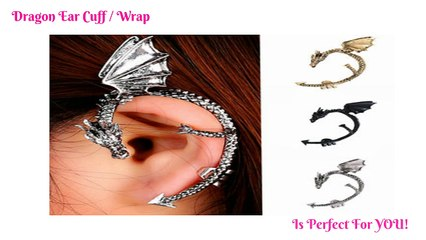Dragon Cuff Earring - Dragon Ear Cuff
