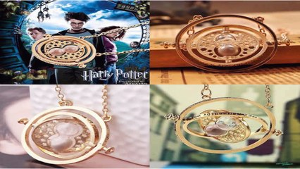 Harry Potter Snitch Watch Necklace - Hermione Granger Jewelry