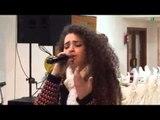 مقطع من البروفا مع فرقة نغم في بيت لحم بصوت ساندرا