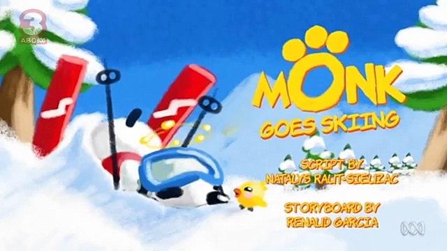 ABC3  Monk Monk Goes Skiing