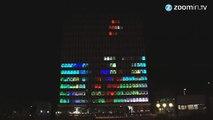 Buzz : Un immeuble devient un écran géant pour jouer à Tetris !