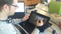 A Camaret, Quentin est sculpteur numérique en 3D