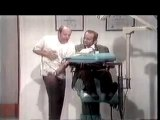 The famous Dentist Sketch with Tim Conway and Harvey Korean from the Carol Burnett Show.   They are so funny! ♡