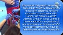Cuerpo Extraño en muslo Agosto 2015 Alcalá de Henares Summa 112