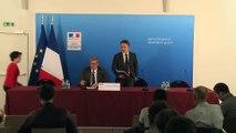 Conférence de presse de Stéphane Le Foll pour rendre compte de ses échanges avec ses homologues européens