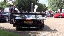 Road Legal Maserati MC12 Corsa LOUD Revs and Driving Scenes
